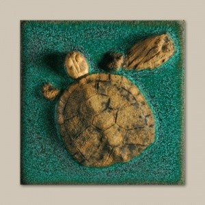 "Turtle 4"" Tile - Product Image"