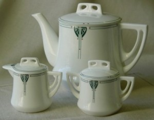 Viennese Pendant China: Tea Party Set - Product Image
