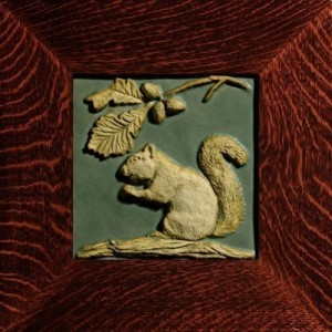 "Weaver 8"" Squirrel Tile - Product Image"