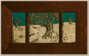 Weaver Landscape Three Tile Set - Product Image
