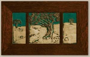 Weaver Landscape Three Tile Set - Product Image