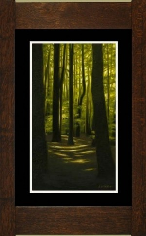 Woods I, Laura Wilder's Limited Edition Giclee Print - Product Image